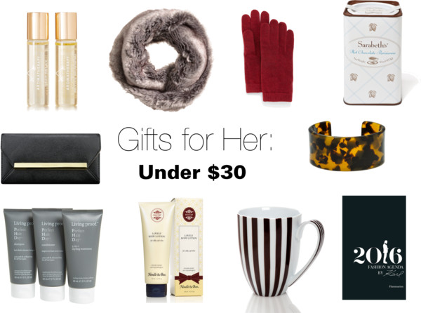 Gift Guide: Under $30